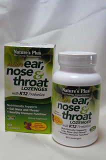 Adult's Ear Nose & Throat Lozenges with K12 Probiotics.JPG