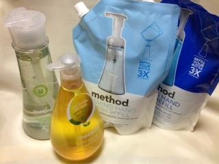 メソッドのハンドソープや食器洗剤.JPG