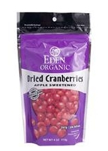 Eden Foods, Organic Dried Cranberries.JPG