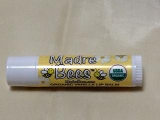 Madre Bees Organic Vanilla Lip Balm.JPG