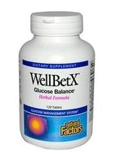 Natural Factors, WellBetX, Glucose Balance.JPG