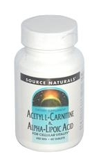 Source Naturals, Acetyl L-Carnitine & Alpha Lipoic Acid.JPG