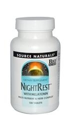 Source Naturals, NightRest, with Melatonin.JPG